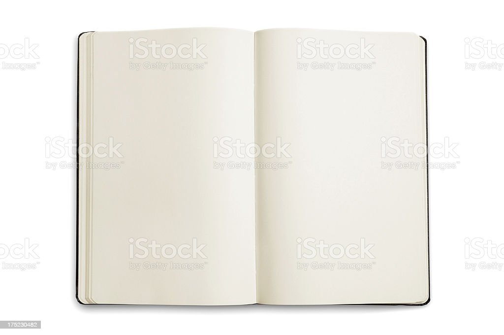 Open Note Pad royalty-free stock photo