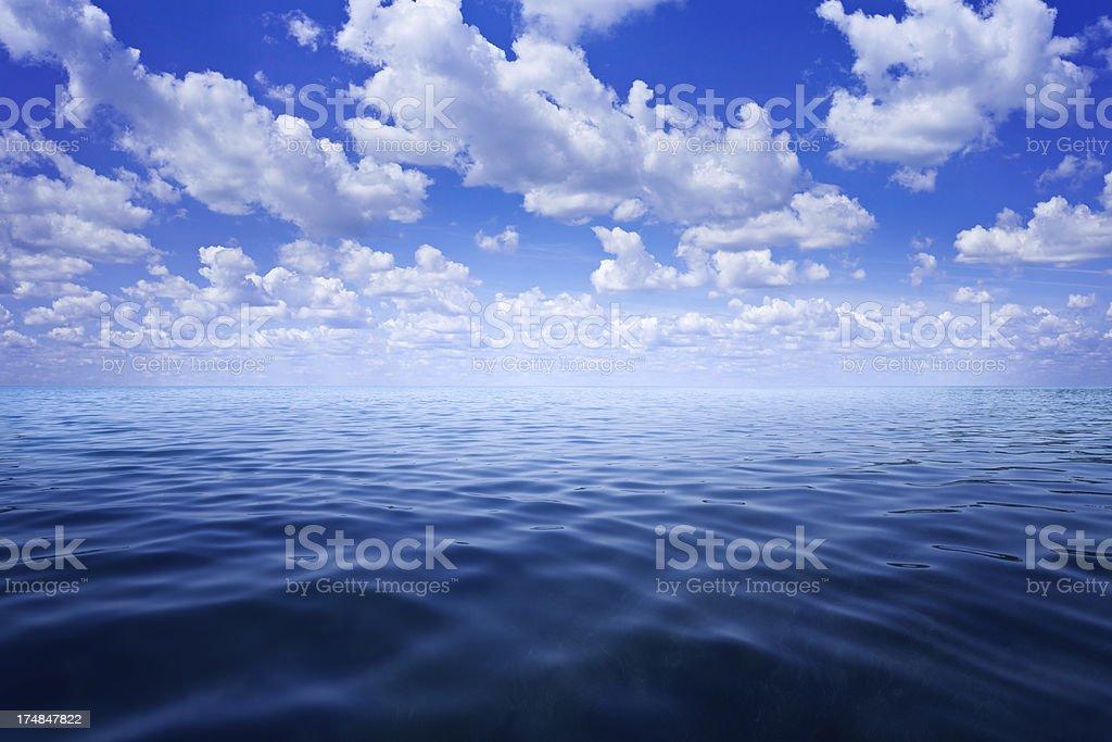 Open ocean stock photo