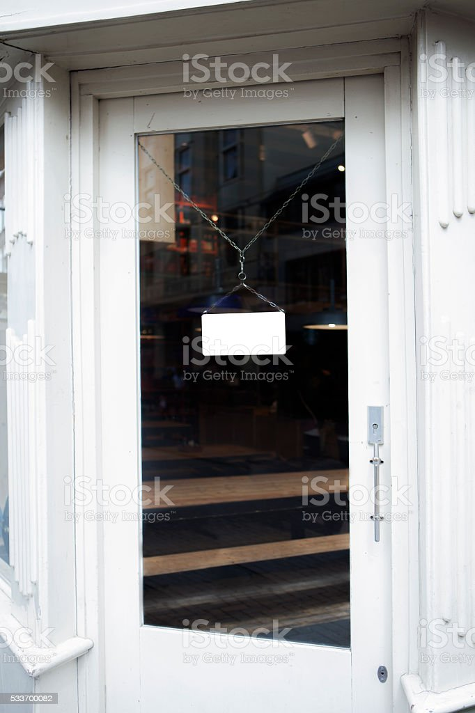 Open or Closed? stock photo