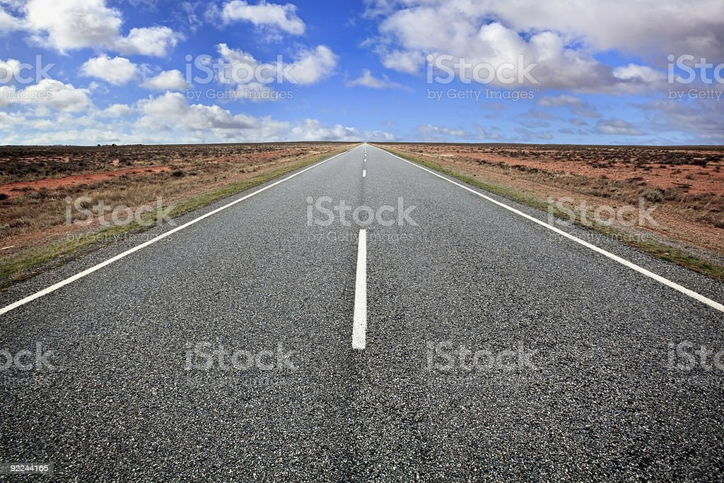 Open Outback Road royalty-free stock photo