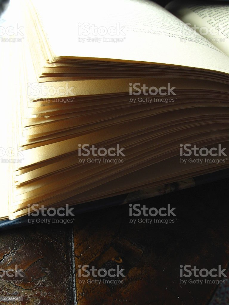 Open Pages stock photo