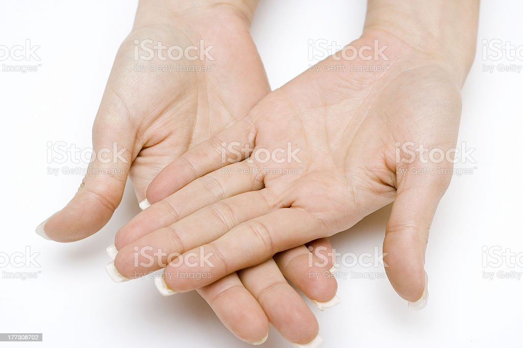 Open Palm royalty-free stock photo