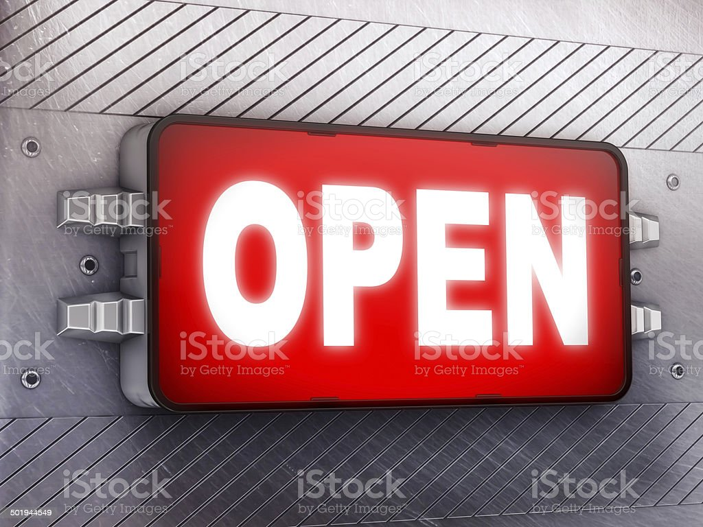 Open royalty-free stock photo