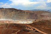 Open Pit Mine, Morenci, Arizona 2
