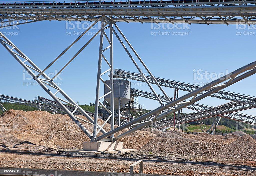 オープンピットの採鉱 ロイヤリティフリーストックフォト