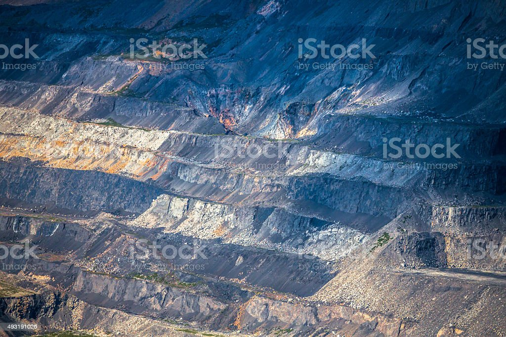 Open Pit Mining stock photo