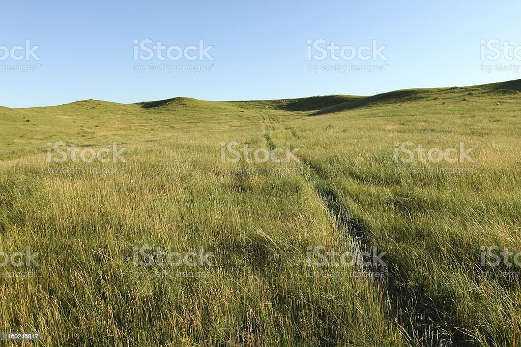 Open Prairie royalty-free stock photo
