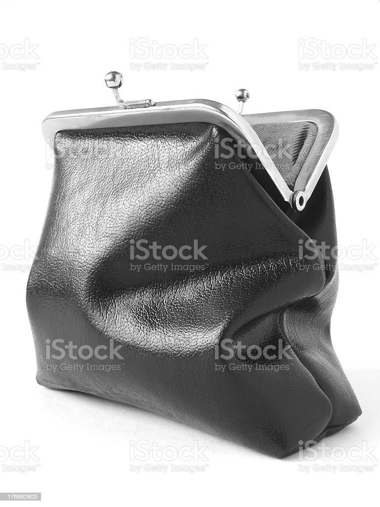 open purse royalty-free stock photo