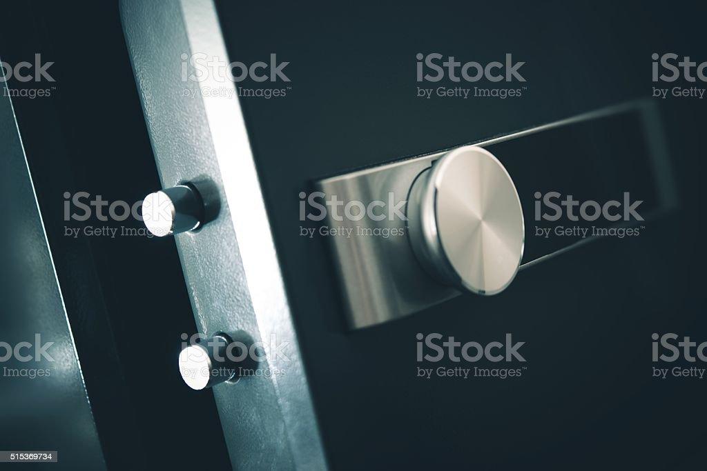 Open Residential Safe stock photo