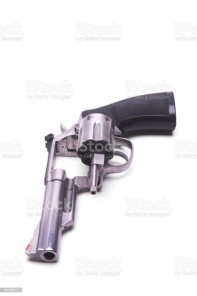 Open Revolver stock photo