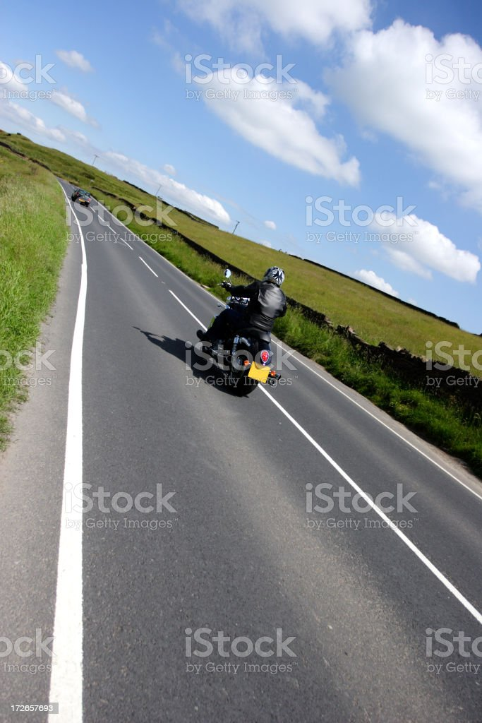 Open Road royalty-free stock photo