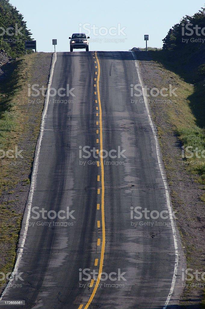 Open road - SUV royalty-free stock photo
