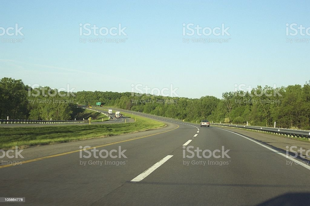 Open Roads royalty-free stock photo