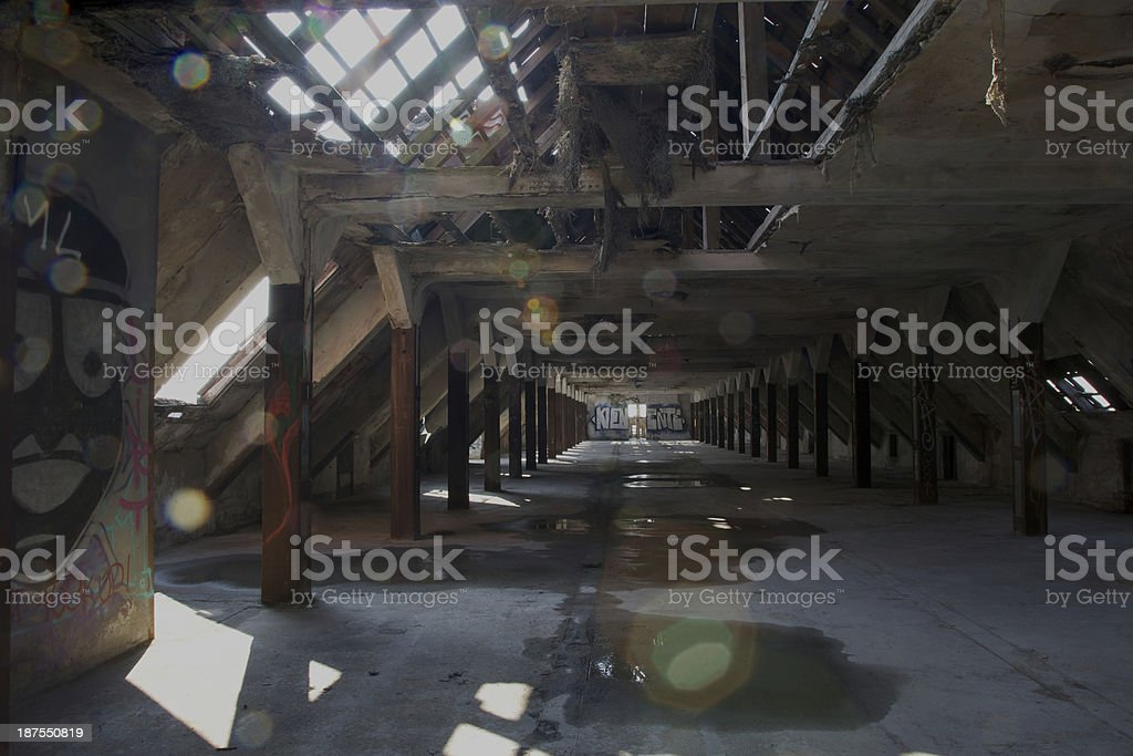 offenes Dach stock photo