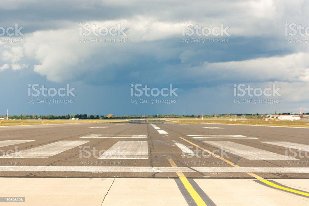 Open Runway stock photo