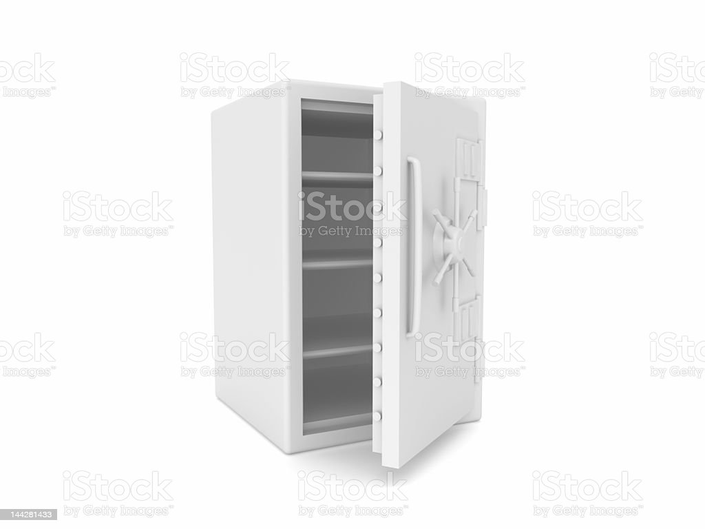Open Safe royalty-free stock photo