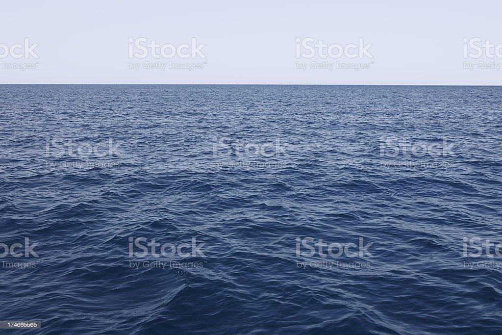 Open Sea royalty-free stock photo