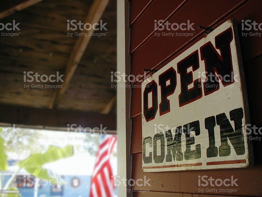 Open - sign stock photo