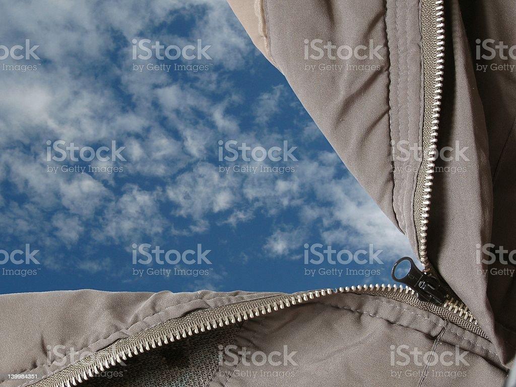 Open sky stock photo