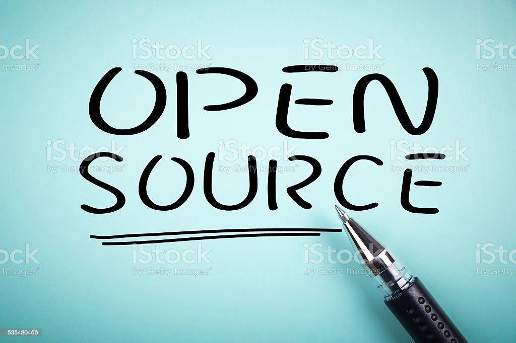 Open Source stock photo