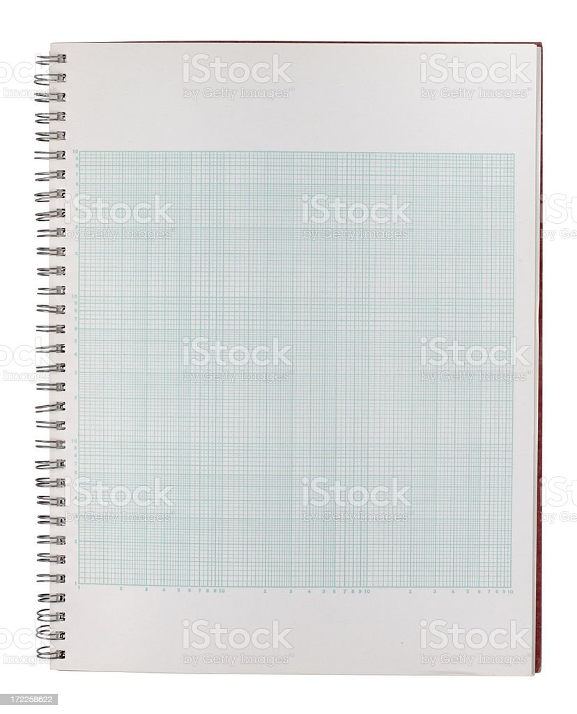 Spiral Notebook Graph Paper Pictures Images And Stock Photos  Istock