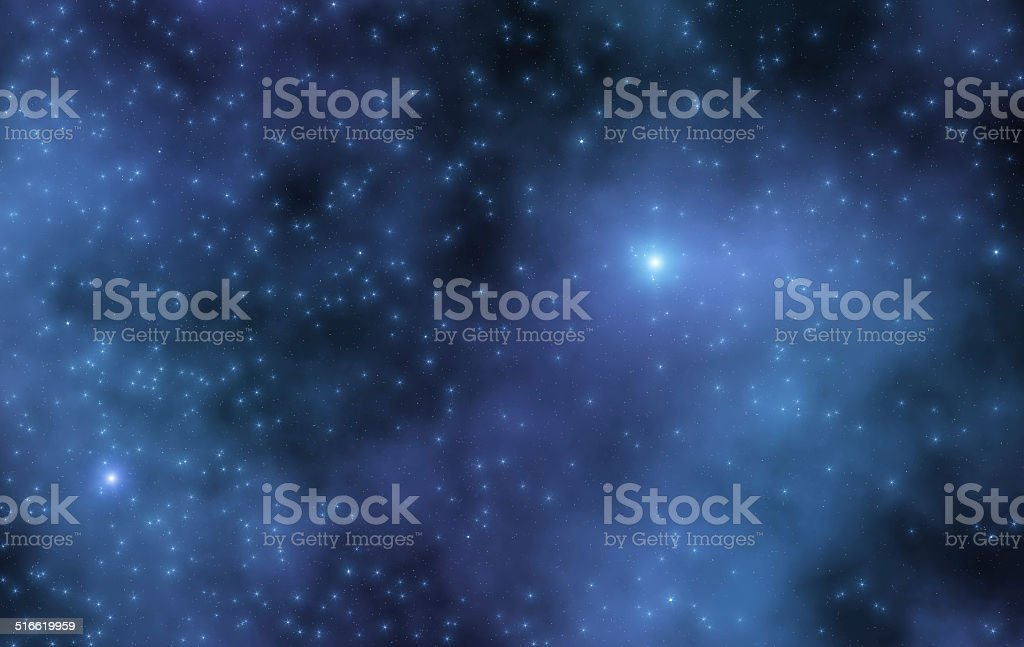 Open star cluster stock photo