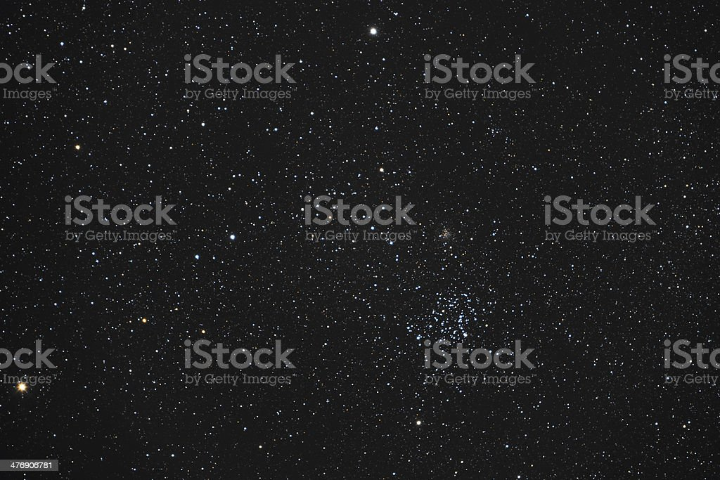 open stars cluster stock photo
