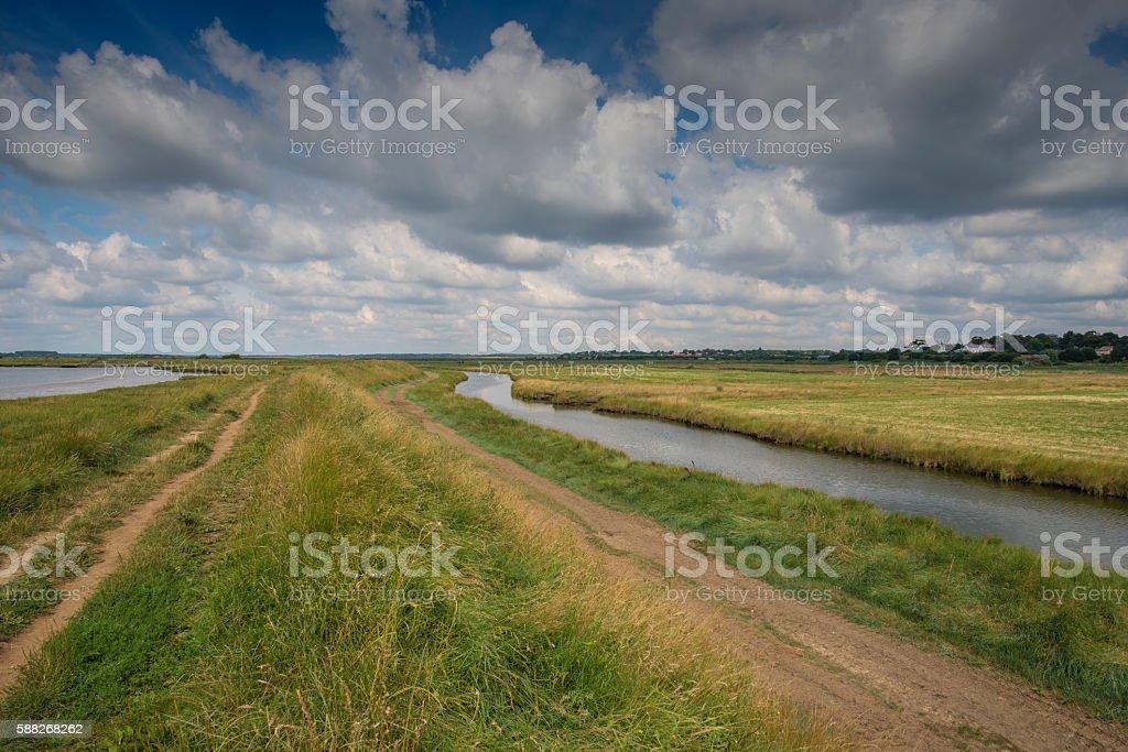 Open Suffolk Waterways stock photo