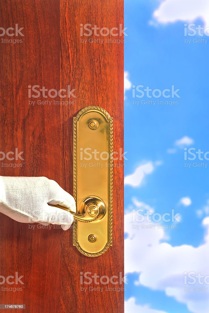 Open to the World royalty-free stock photo