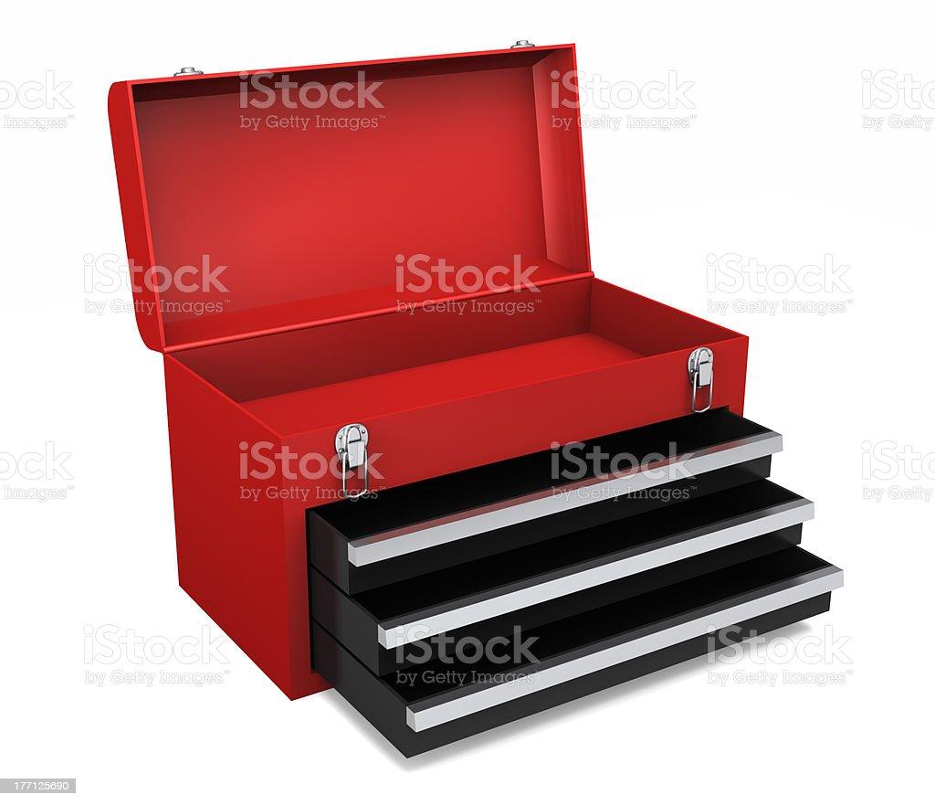 Open Toolbox stock photo