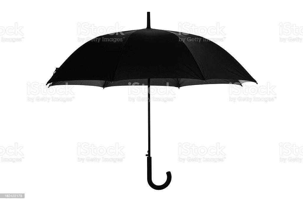 Open umbrella stock photo
