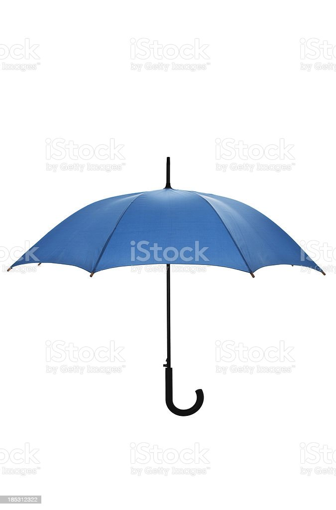 Open umbrella stock photo