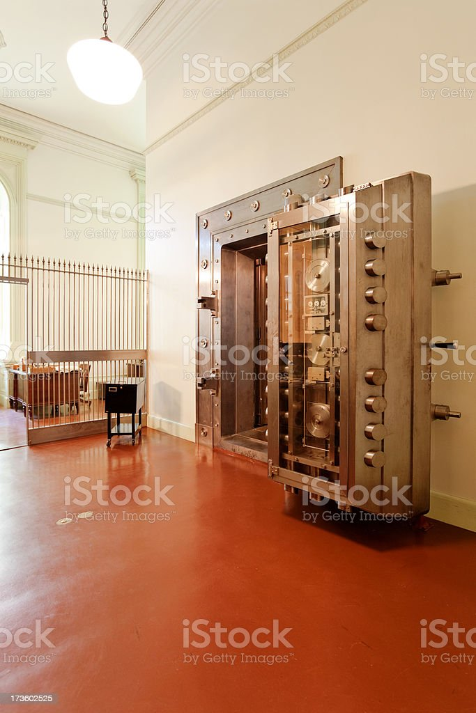 Open Vault royalty-free stock photo