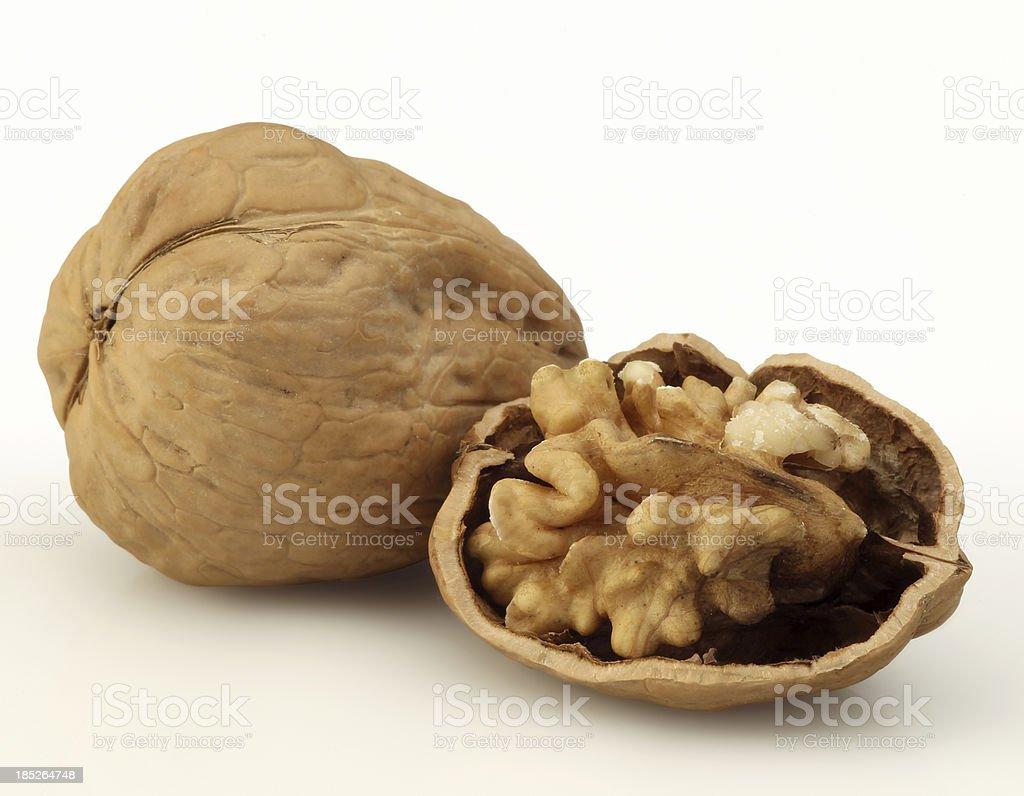 Open Walnut royalty-free stock photo