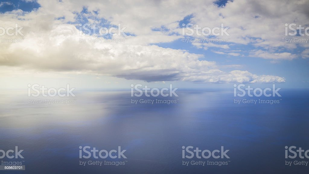 Open Waters, Cabo Girao, Madeira royalty-free stock photo