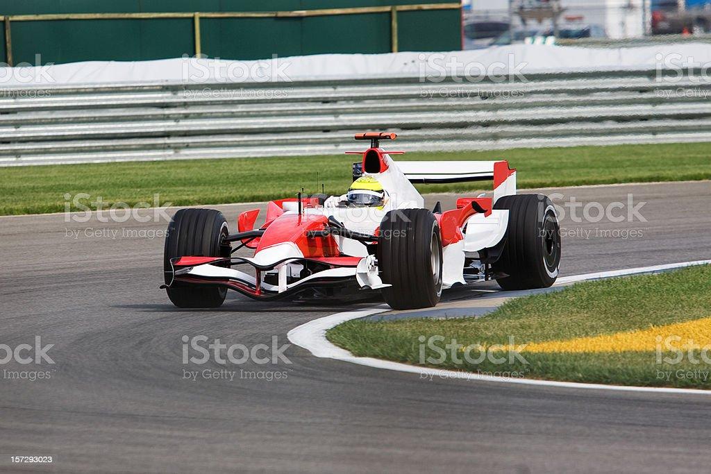 Open Wheel Race Car stock photo