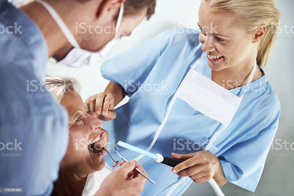 Open wide royalty-free stock photo