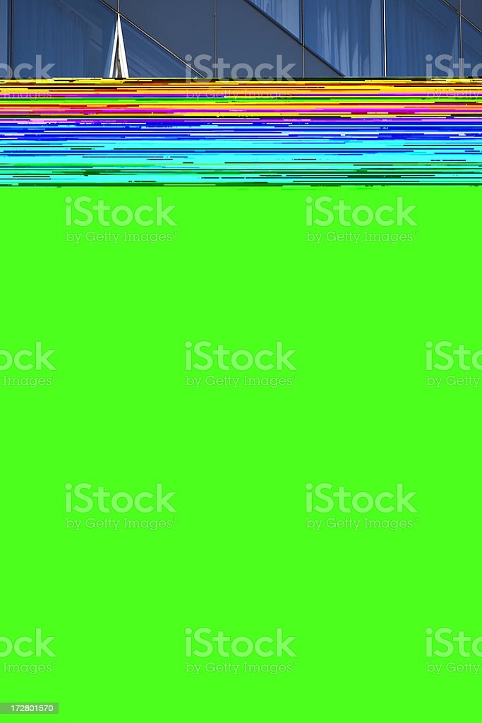 Open Window Abstract royalty-free stock photo