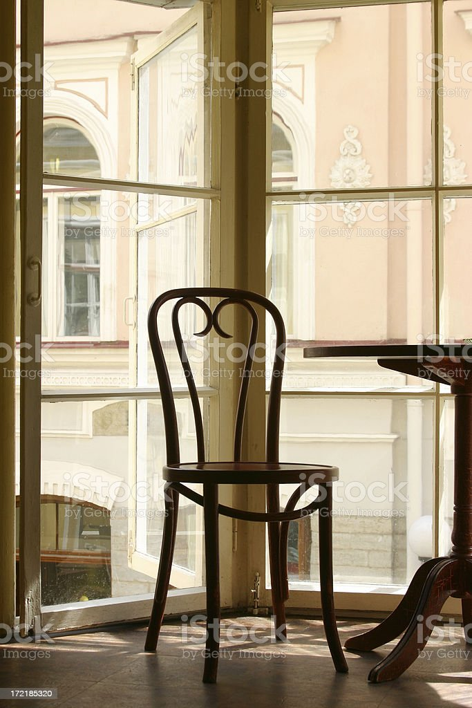 Open Window royalty-free stock photo