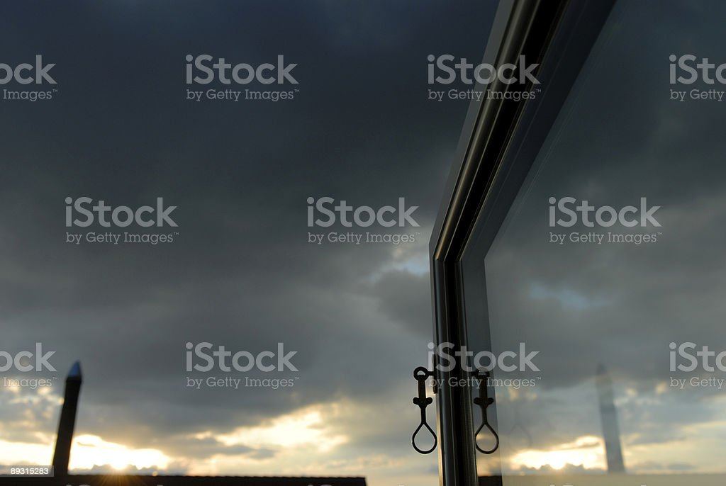 Open Window View royalty-free stock photo