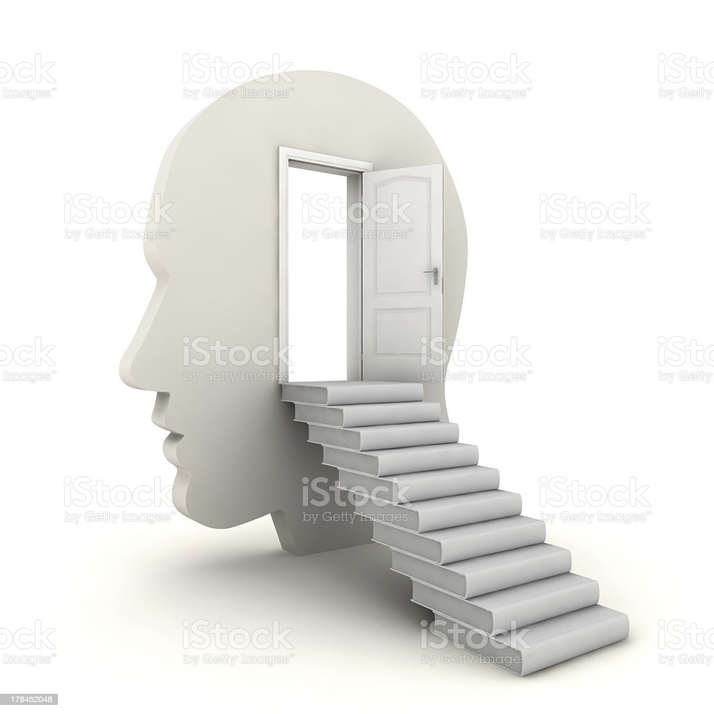 Open Your Mind to Learning royalty-free stock photo