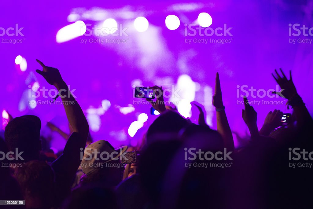 openair concert royalty-free stock photo