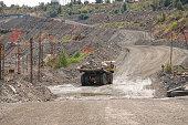 Opencast iron ore