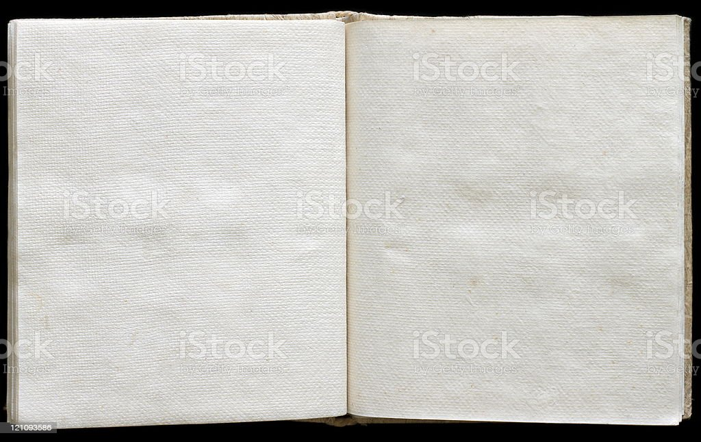 Opened ancient book royalty-free stock photo