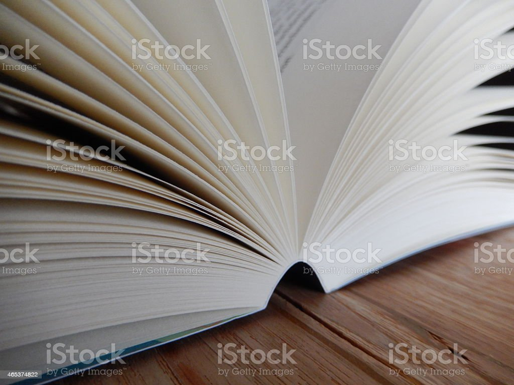 Opened Book stock photo