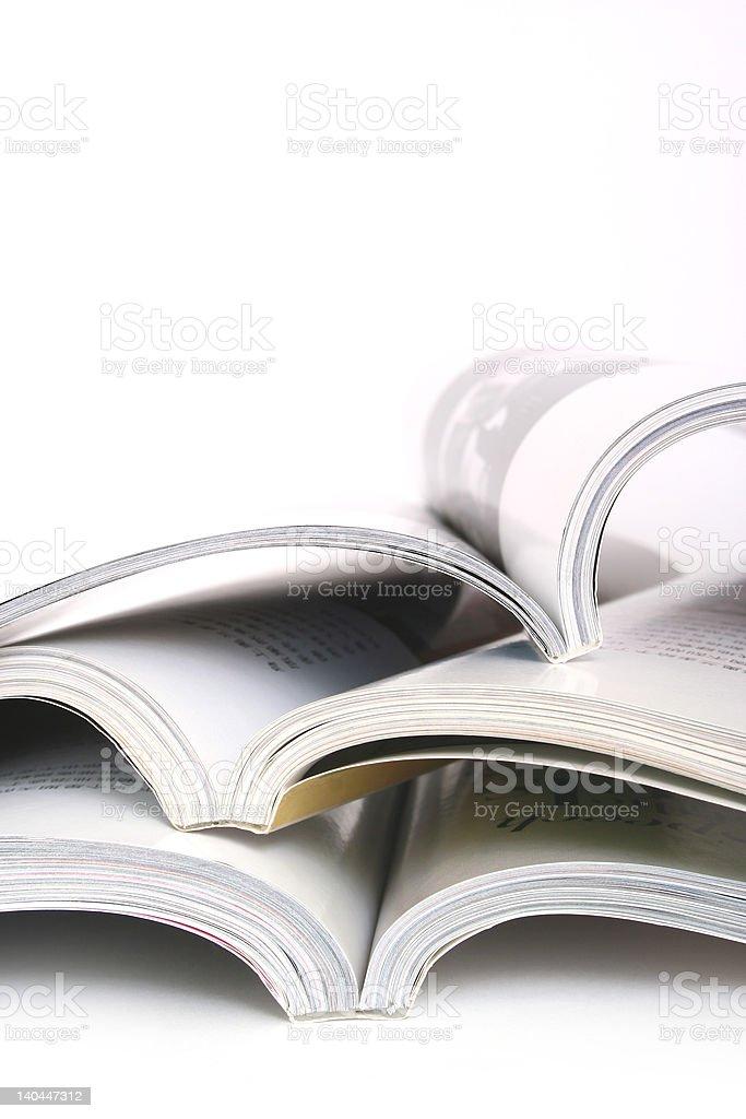 Opened Books royalty-free stock photo