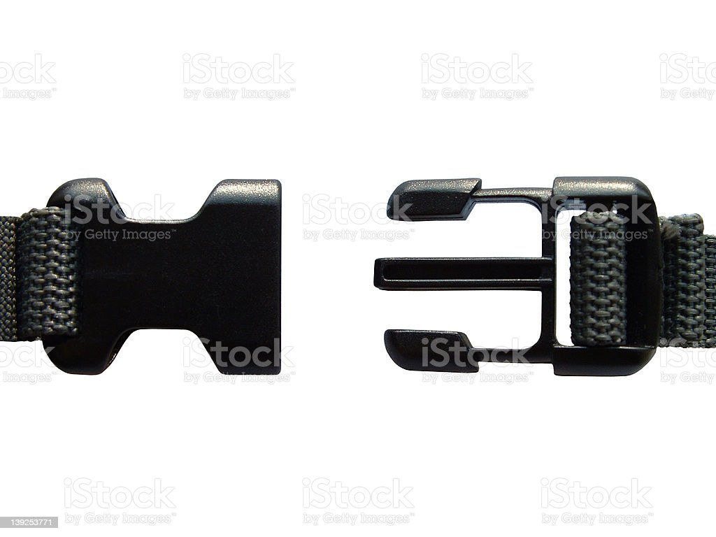 opened clasp royalty-free stock photo