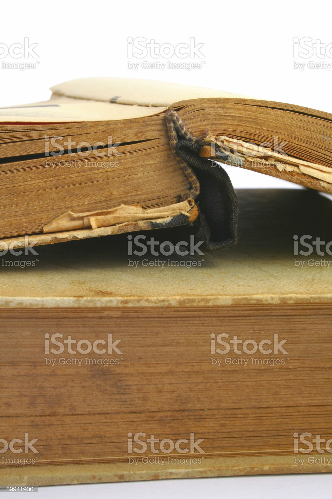 opened vintage book - vivid colors royalty-free stock photo