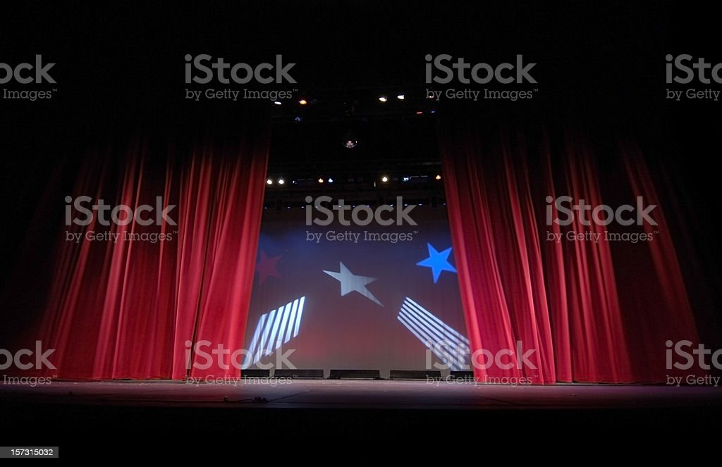 Opening Act royalty-free stock photo