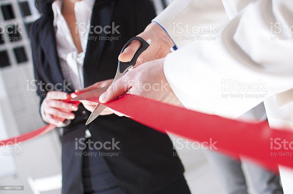 Opening ceremony stock photo